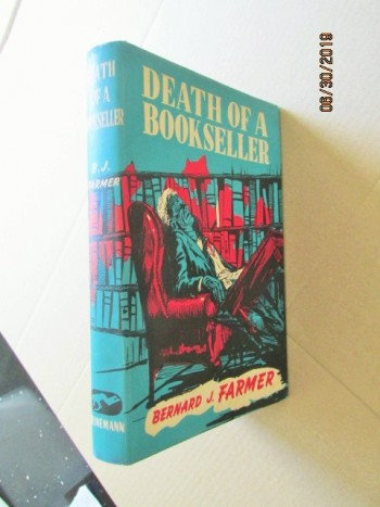 Image for Death of a Bookseller First Edition in Original Diustjacket