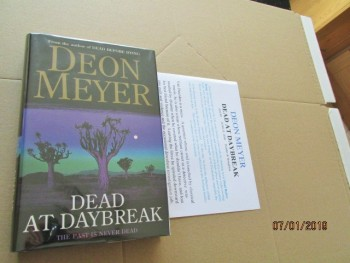 Image for Dead at Daybreak first Edition Plus Publicity Letter