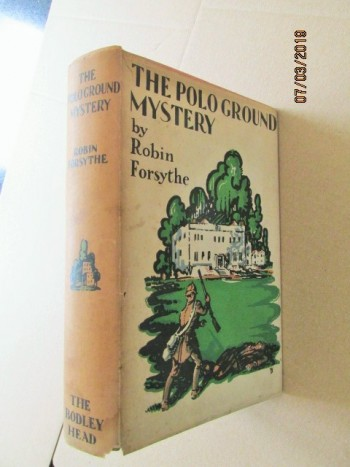Image for The Polo Ground Mystery First Edition in Original Dustjacket