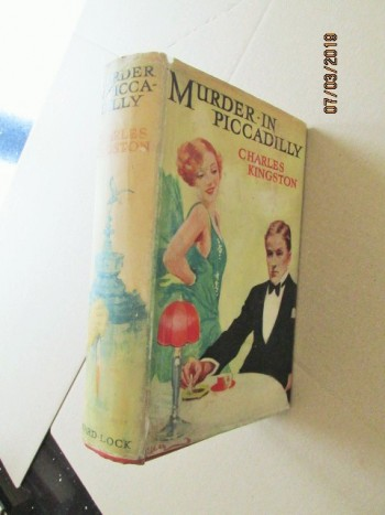 Image for Murder in Piccadilly 1936 First Edition Hardback in Dustjacket