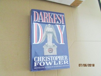 Image for Darkest Day Signed First Edition
