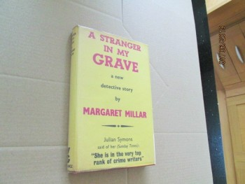 Image for A Stranger in My Grave First Edition