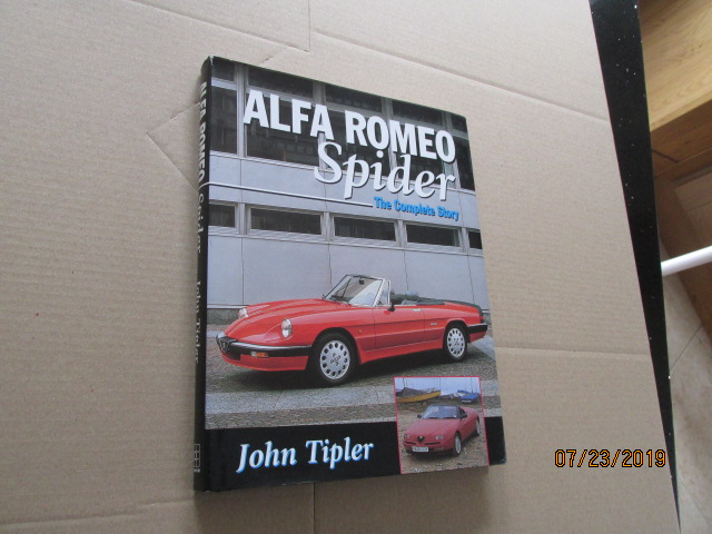 Image for Alfa Romeo Spider The Complete Story First Edition