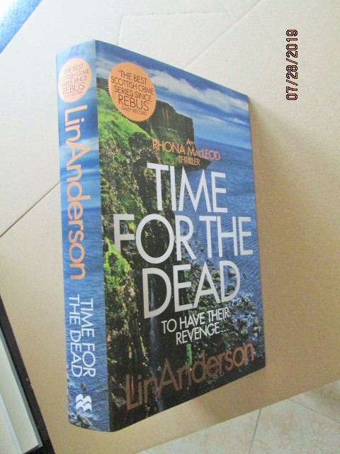 Image for Time for the Dead Unread First Edition Hardback in Dustjacket