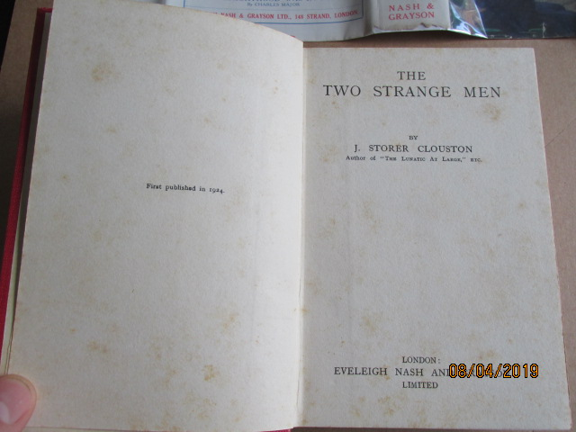 Image for The Two Strange Men First Edition in Dustjacket