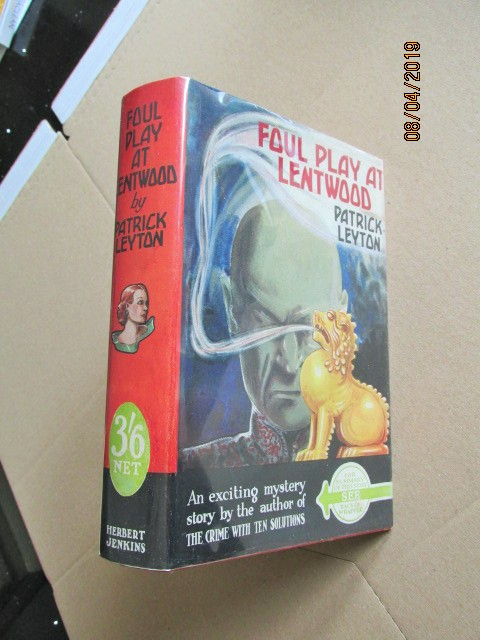 Image for Foul Play at Lentwood First Edition in Dustjacket