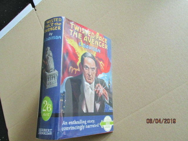 Image for Twisted Face the Avenger First Edition in Dustjacket