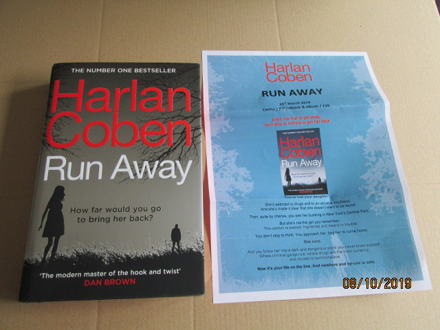 Image for Run Away First Edition plus Publicity Letter