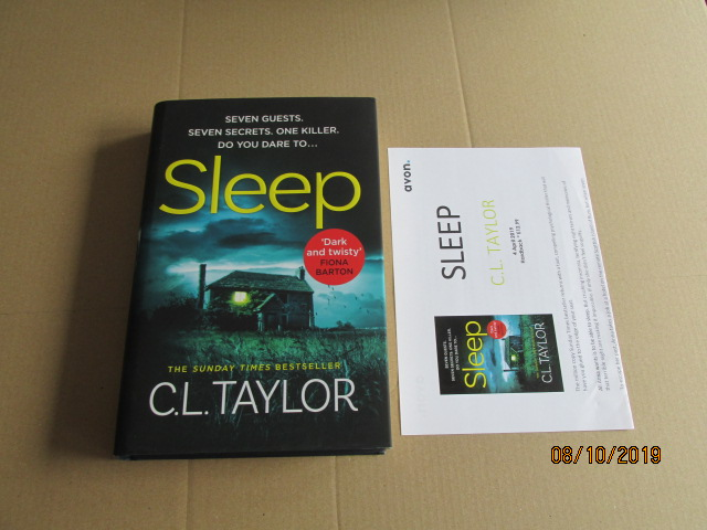 Image for Sleep First Edition Plus Publicity Letter