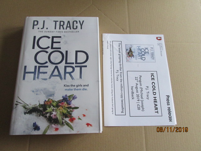 Image for Ice Cold Heart Unread Fine First Edition Plus Publicity Letter