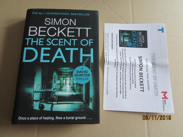 Image for The Scent of Death First Edition Plus Publicity Letter