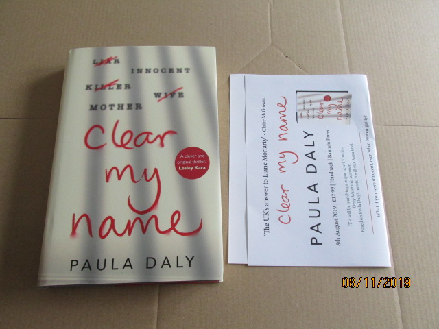 Image for Clear My Name First Edition Plus Publicity Letter
