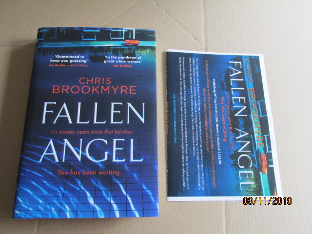 Image for Fallen Angel First Edition Plus Publicity Letter