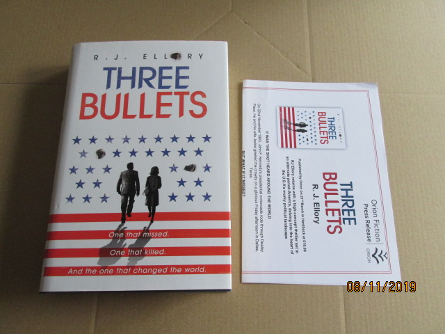 Image for Three Bullets First Edition Plus Publicity Letter