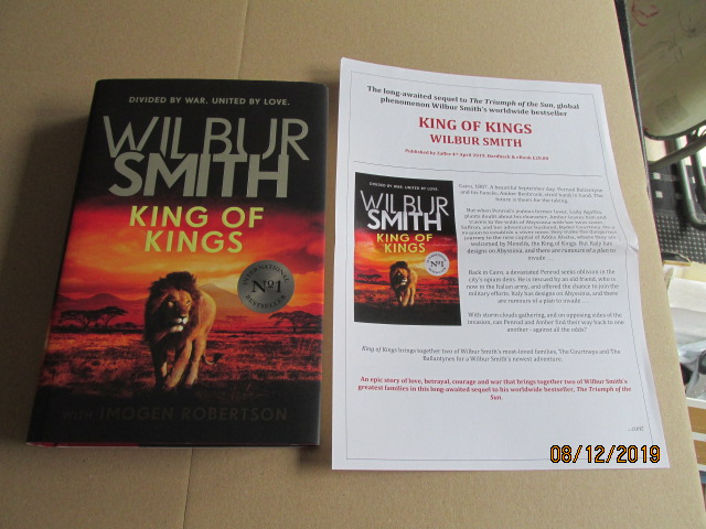 Image for King of Kings First Edition Plus Publicity Letter
