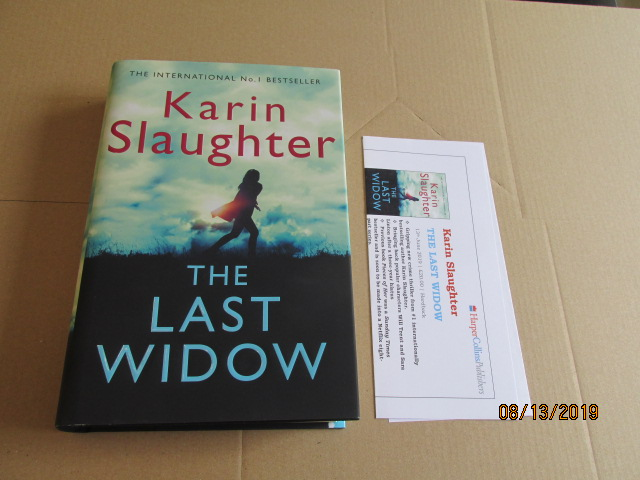 Image for The Last Widow First Edition Plus Publicity Letter