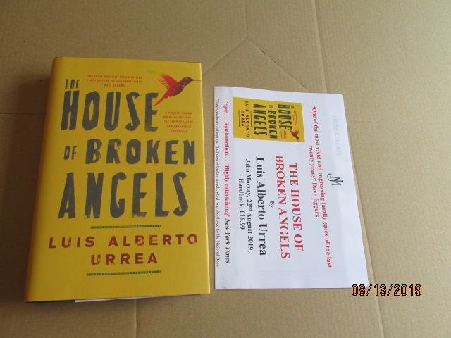 Image for The House of Broken Angels First Edition Plus Publicity Letter