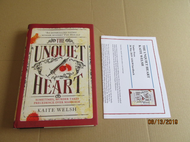 Image for The Unquiet Heart First Edition Plus Publicity Letter