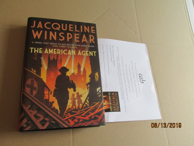 Image for The American Agent First Edition Plus Publicity Letter