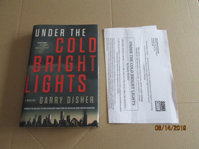 Image for Under the Cold Bright Lights First Edition Plus Publcity Letter