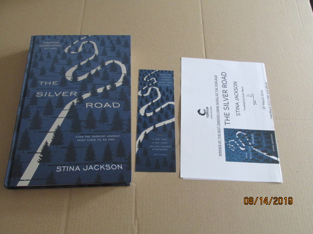 Image for The Silver Road First Edition Plus Publicity Letter  and Bookmark