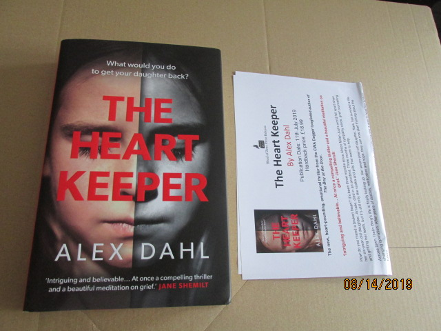 Image for The Heart Keeper Unread First Edition Plus Publicity Letter