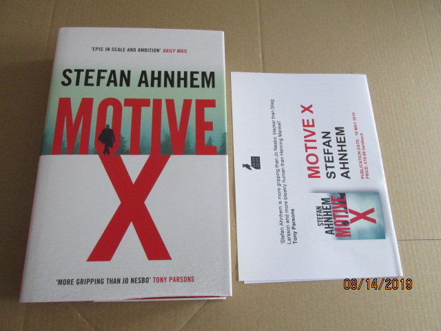 Image for Motive X First Edition Plus Publicity letter