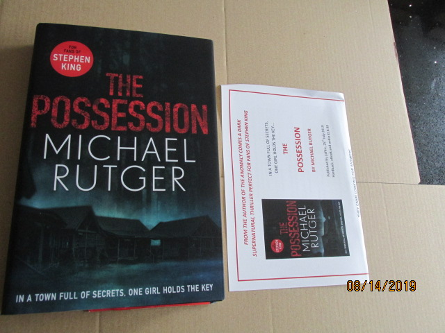 Image for The Possession First Edition Unread Plus Publicity Letter