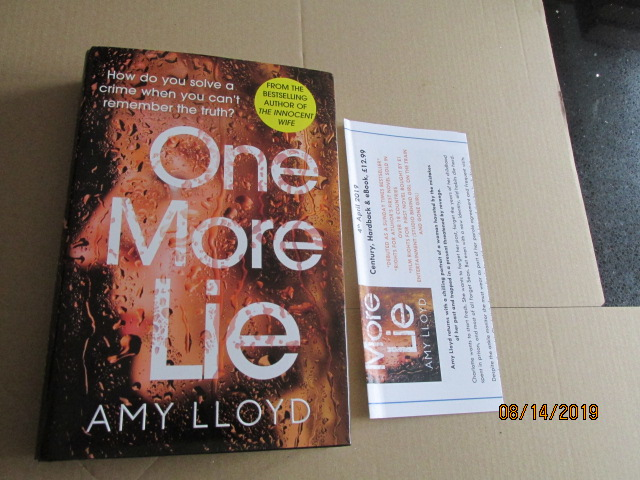 Image for One More Lie First Edition Plus Publicity Letter
