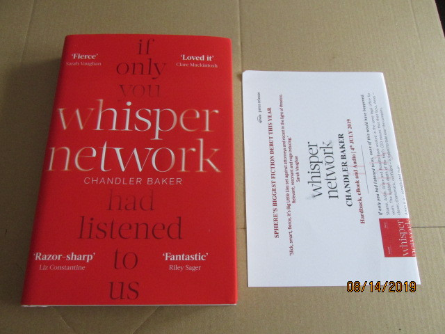 Image for Whisper Network First Edition Plus Publicity Letter