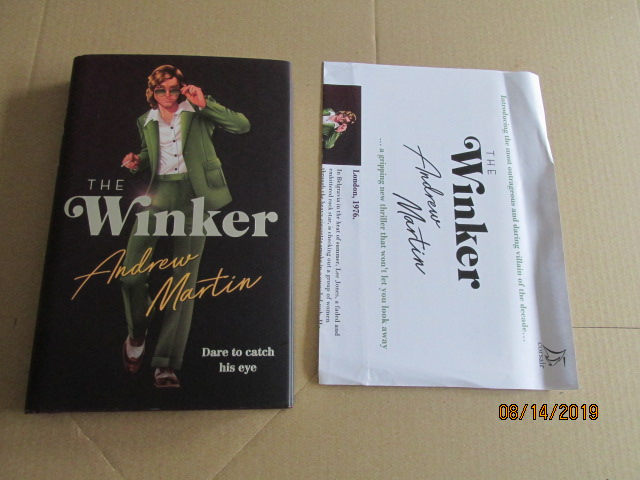 Image for The Winker First Edition Plus Publicity Letter