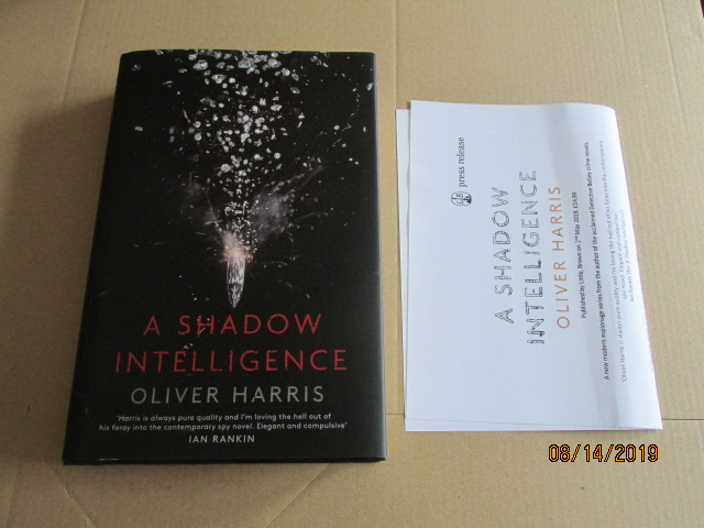 Image for A Shadow Intelligence First Edition Plus Publicity Letter