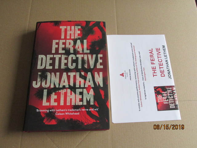 Image for The Feral Detective First Edition Plus Publcity Letter