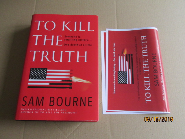 Image for To Kill the Truth First Edition Plus Publcity Letter