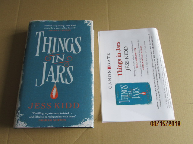 Image for Things in Jars First Edition Plus Publicity Letter