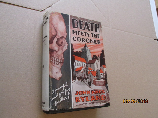 Image for Death Meets the Coroner First Edition in Original Dustjacket