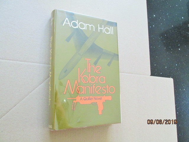 Image for The Kobra Manifesto First Edition Hardback in Dustjacket