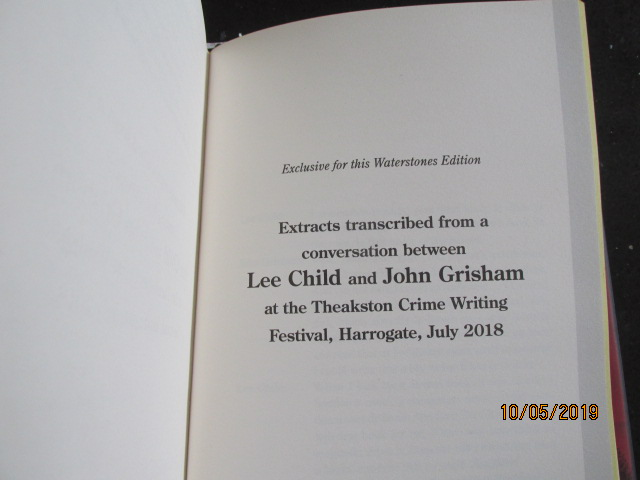 Image for Past Tense Signed First Edition with Yellow Edges and Extra Text