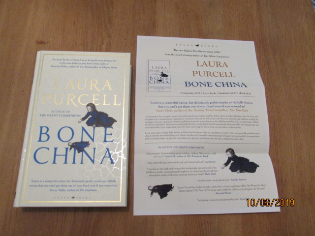 Image for Bone China First Edition Hardback Plus Publicity Letter