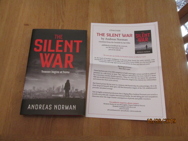 Image for The Silent War First Edition Plus Publicty Letter