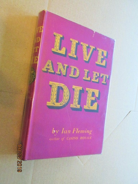 Image for Live and Let Die 1958 Hardback in Original Dustjacket