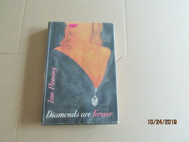 Image for Diamonds are Forever First Edition Hardback in Original Dustjacket