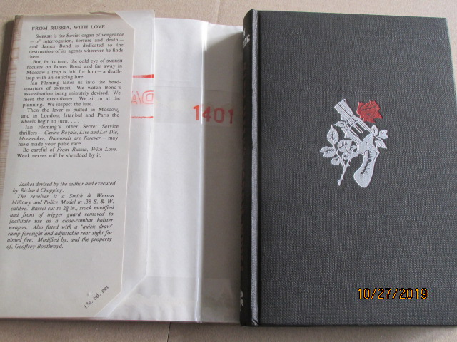 Image for From Russia with Love First Edition Hardback in Original Dustjacket