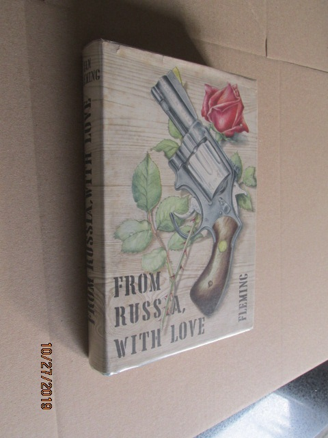 Image for From Russia with Love First Bookclub Edition with Cape Pages in Dustjacket