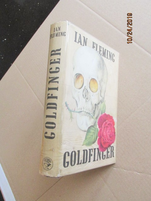 Image for Goldfinger First Edition Hardback in Original Dustjacket