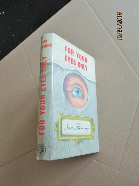Image for For Your Eyes Only First Edition Hardback in Original Dustjacket