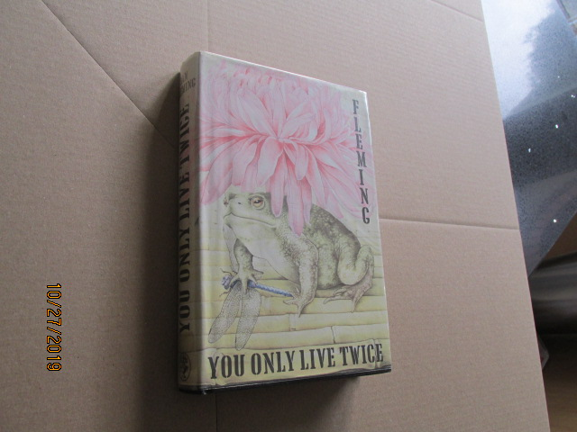 Image for You Only Live Twice First Edition Hardback in Original Dustjacket