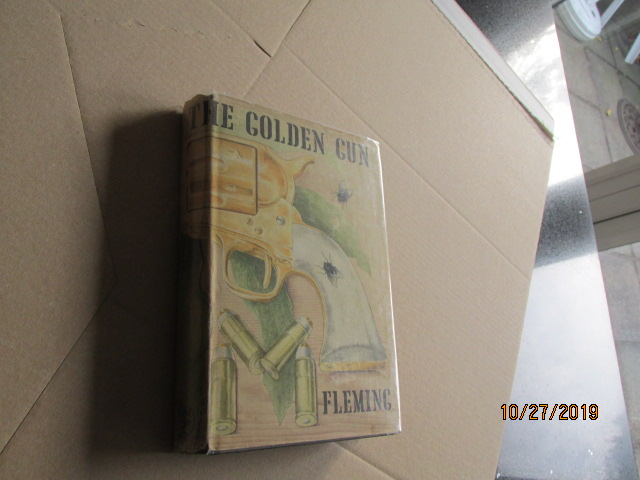Image for The Man with the Golden Gun First Edition Hardback in Original Dustjacket