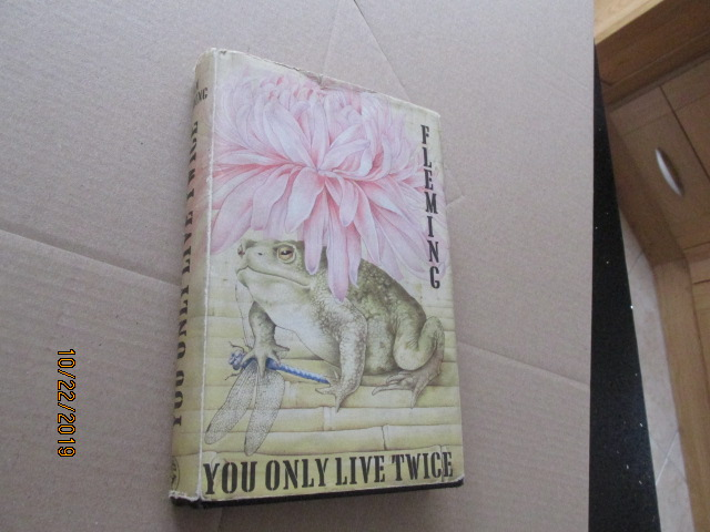 Image for You Only Live Twice First Edition 3rd Printing Hardback in Original Dustjacket