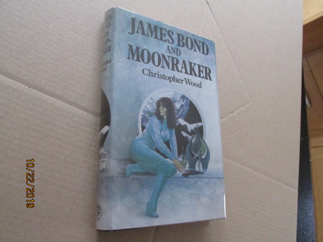 Image for James Bond and Moonraker First Edition Hardback in Original Dustjacket